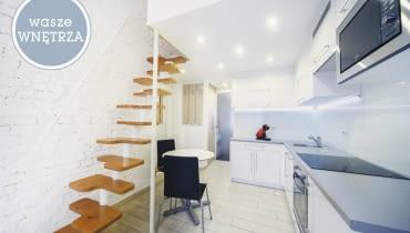 małe mieszkanie, wasze wnętrza, kawalerka, jak mieszkają Polacy