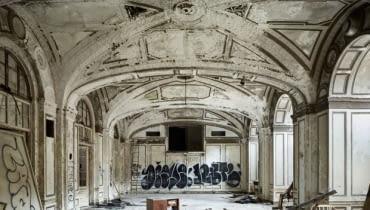 Detroit, zrujnowane Detroit, ruiny Detroit