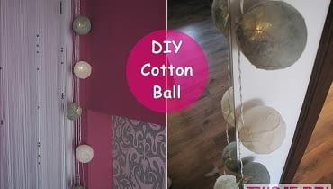 cotton ball, diy, jak zrobić cotton ball, zrób to sam