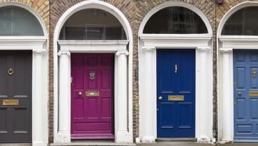 Malowane drzwi: zalety i potencjał