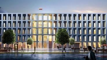 Projekt polskiej ambasady w Berlinie autorstwa JEMS Architekci