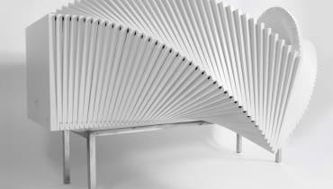 Wave Cabinet, proj. Sebastian Errazuriz