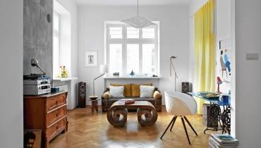 zdjęcia mieszkań, polskie wnętrza