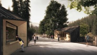 Projekt nowych wejść do Tatrzańskiego Parku Narodowego
