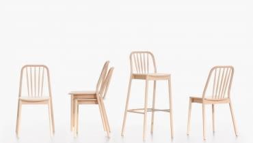 Krzesło Aldo nagrodzone tytułem Śląska Rzecz