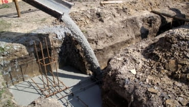 beton wylewany,fundamenty
