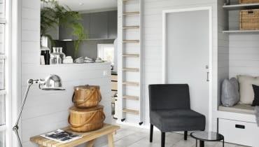 duński design, skandynawski styl, dom nad morzem