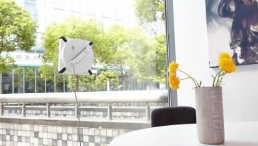 Robot myjący okna