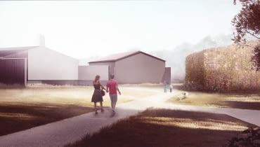 Projekt przygotował zespół architektów z pracowni Tissellistudio
