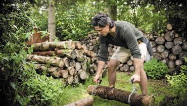 kominek, drewno zapasy do kominka