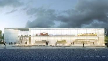 Stacja Muzeum - nowa siedziba Muzeum Kolejnictwa W Warszawie - I nagroda Forum Architekci
