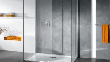 kabina prysznicowa z płaskim brodzikiem, płaski brodzik
