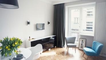 małe mieszkanie, kawalerka, jak urządzić małe mieszkanie, kawalerka w warszawie, funkcjonalne mieszkanie, mieszkanie w starej kamienicy, mieszkanie w kamienicy