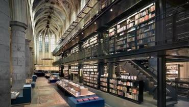 księgarnia w Maastricht; projekt: Merkx Girod