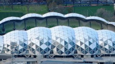 AAMI Park, Melbourne, Australia, 2010, proj. Cox Architects and Planners