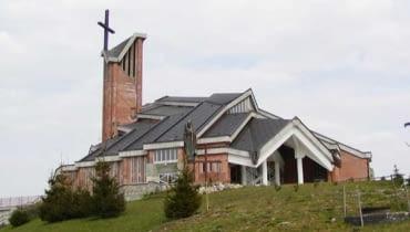 kościół Chrystusa Odkupiciela Człowieka w Olsztynie
