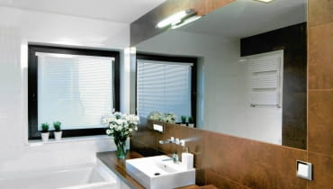 łazienka, aranżacja łazienki, oświetlenie łazienki