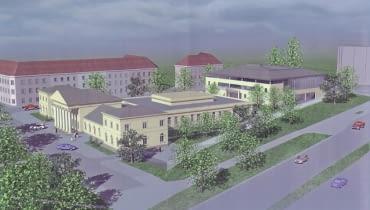 Nowe budynki Uniwersytetu Warszawskiego