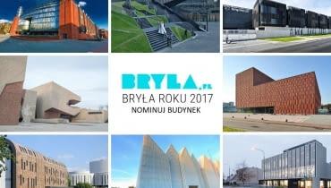 Bryła Roku 2017 - zbieramy nominacje