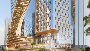 Green Spine w Melbourne projektu UNStudio i Cox Architects