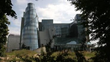Czesław Bielecki, siedziba Telewizji Polskiej, Warszawa