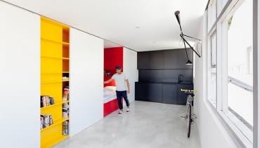 kawalerka, małe mieszkanie, nowoczesne mieszkanie, jak urządzić małe mieszkanie, jak urządzić kawalerkę