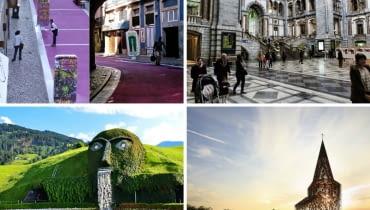 Niezwykłe miejsca w różnych zakątkach świata
