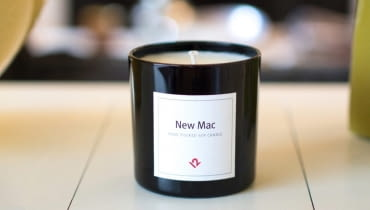 New Mac Soy Candle