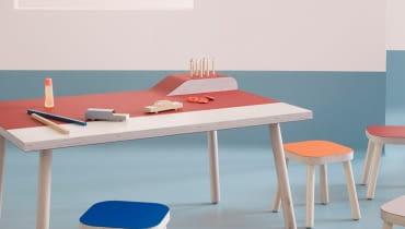 Linoleum na meblach - nowe zastosowanie podłogowego materiału