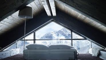 dom w górach, dom w Alpach, przytulny dom w górach