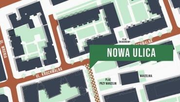 Nowa ulica w Browarach Warszawskich