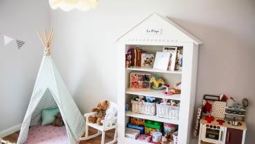 Pokjó dziecięcy, meble dziecięce, pokój dziewczynki, zabawki