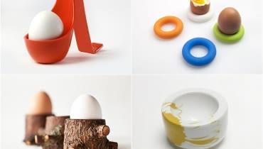 kieliszki do jajek, kieliszki na jajka, w czym podać jajka, podstawki do jajek