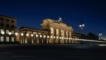 Lampiony w Berlinie