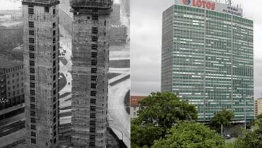 Gdański biurowiec Zieleniak powstawał w latach 1966-1971