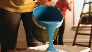 farba do wnętrz, malowanie ścian