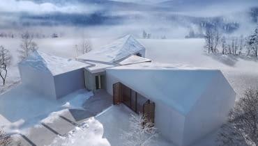 Dom G z widokiem na 26 bekidzkich szczytów