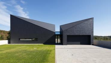 Dom w Krostoszowicach - projekt nowoczesnego domu