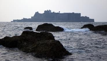 Hashima- Wyspa Widmo nieopodal Nagasaki.