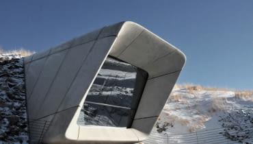 Muzeum alpinizmu na na szczycie góry Kronplatz