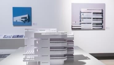 """Przestrzeń wystawy """"Gdynia - Tel Awiw"""""""