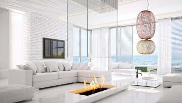 Lampa Ireland składa się z trzech ceramicznych elementów, proj. Stone Design, B.lux.