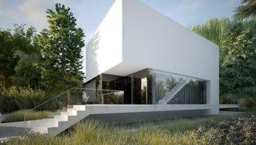 projekty domów, dom nowoczesny, dom jednorodzinny