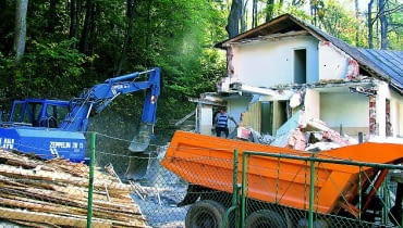 ile kosztuje rozbiórka domu