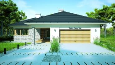 Oto kolejny przykład na to, że mniej znaczy więcej. Innymi słowy: kiedy się patrzy na ten dom, widać doskonale, że proste rozwiązania dotyczące zarówno wyglądu, jak i rozplanowania wnętrza prowadzą do bardzo dobrych efektów.