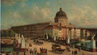 pałac, Stadtschloss, niemcy, berlin, muzeum, rekonstrukcja, zabytki, Francesco Stella