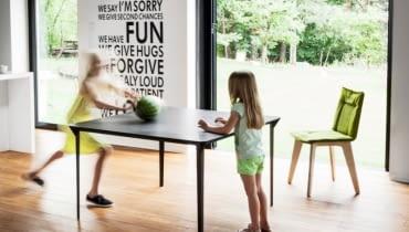 VANK_four stół z aluminiową podstawą