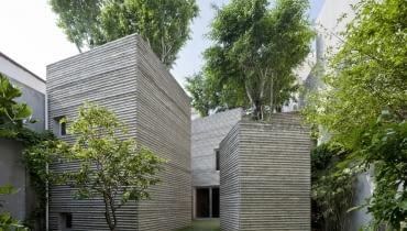 House for Trees zaprojektowali architekci z pracowni Vo Trong Nghia Architects