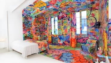 auvieuxpanier, panic room, hotel , design, wnętrza, aranżacja wnętrz, oryginalne wnętrze