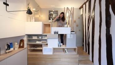 małe mieszkanie, kawalerka, jak urządzić bardzo małe mieszkanie, funkcjonalna kawalerka